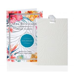 Max Benjamin Seychelles Scented Card