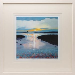 Sharon McDaid Alone Time 18 Inch Frame