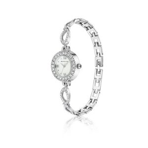 Newbridge Ladies Watch With Clear Stones