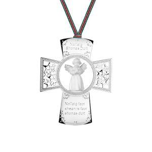 Newbridge Cross with Angel Ornament