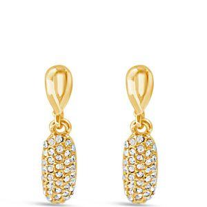 Absolute Sparkle Gold Drop Earrings