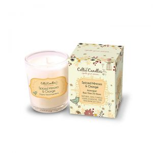 Celtic Candles 9cl Spiced Mimosa & Orange Candle