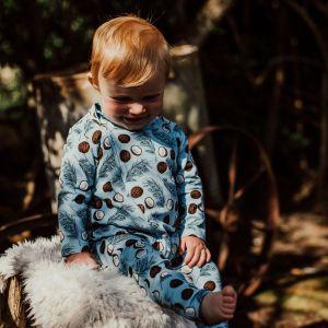 Stork & Co Coconut 12-18 Months Grippy Zippy