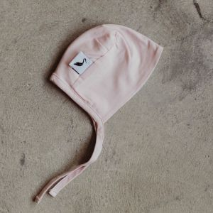 Stork & Co Pink Organic Cotton Bonnet