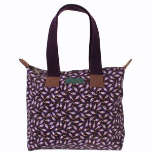 Story Horse Falling Feathers Zipped tote
