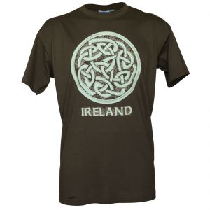 Khaki Celtic Knot T-Shirt