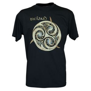 Navy Celtic Knot T-Shirt