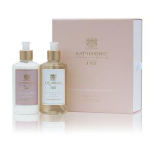 Rathbornes Dublin Tea Rose Bath & Body Gift Set