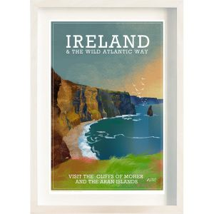 The Ireland Posters Store Cliffs of Moher Frame