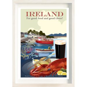 The Ireland Posters Store Good Cheer Frame