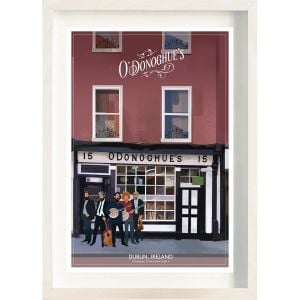 The Ireland Posters Store O' Donoghue's Frame