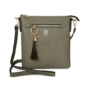 Tipperary Crystal Chelsea Olive Crossbody