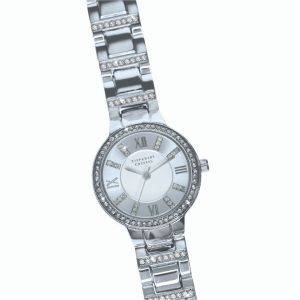 Tipperary Crystal Continuance Silver Watch