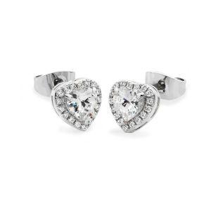Tipperary Crystal Diamante Heart Earrings