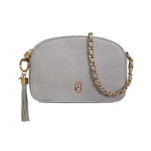 Tipperary Crystal Grey Cannes Shoulder Bag
