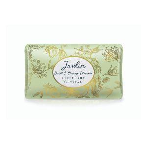 Tipperary Crystal Jardin Basil & Orange  Soap
