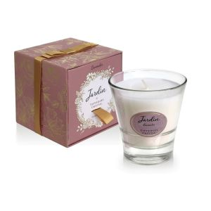 Tipperary Crystal Jardin Candle Lavender box and candle
