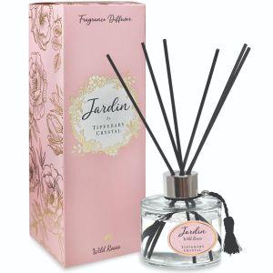 Tipperary Crystal Jardin Wild Rose Diffuser