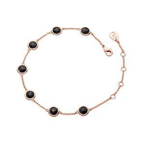 Tipperary Crystal Noir Black Stone Bracelet