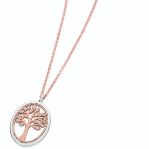 Tipperary Crystal Oval Tree Of Life Pendant