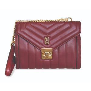Tipperary Crystal Burgundy Oxford Bag