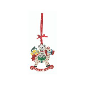 Tipperary Crystal Rocking Horse Decoration