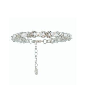Tipperary Crystal Silver XO Bracelet