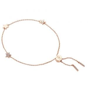 Tipperary Crystal Stars Rose Gold Bracelet