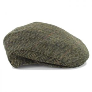Mucros Weavers Trinity Wool Cap Dark Green