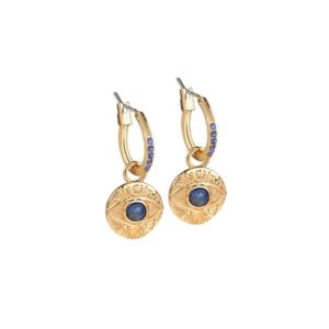 Newbridge-All-Seeing-Evil-Eye-Earrings-Blue-Stone