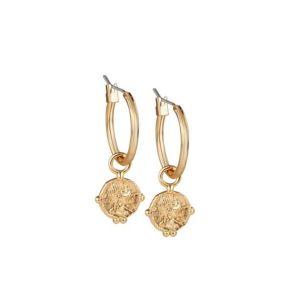 Newbridge-Small-Coin-Earrings