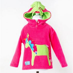 Wacky Clothing Pink Horse Hoodie