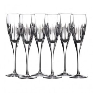 Waterford Crystal Ardan Mara Iced Flute Set