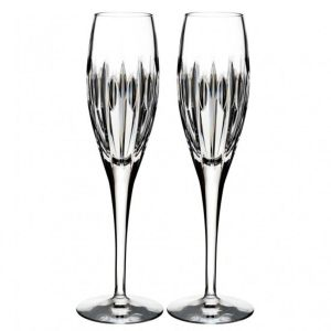 Waterford Crystal Mara Flute Pair