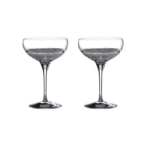 Waterford Crystal Mixology Circon Large Cocktail Coupe Pair