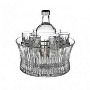 Waterford Crystal Lismore Vodka Set