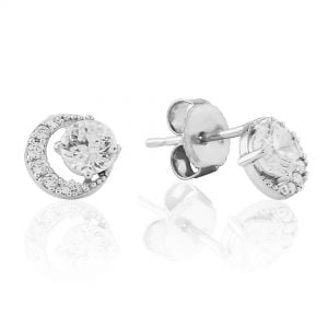 Waterford Jewellery Open Circle Stud Earrings