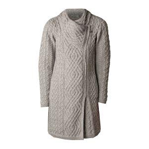 West End Knitwear Liffey Grey Cardigan