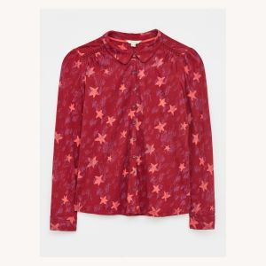White Stuff Loganberry Collared Shirt front