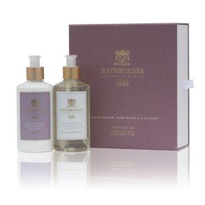 Rathbornes White Pepper Bath & Body Gift Set