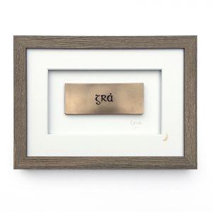 Wild Goose Grá Bronze Frame