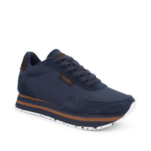 Woden Nora III Plateau Navy Trainers