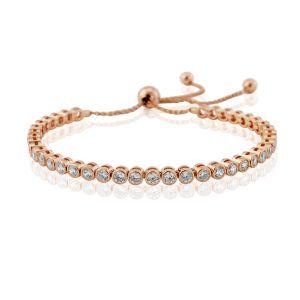 Waterford Jewellery Rose Crystal Tennis Bracelet