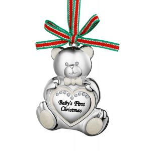 Newbridge Teddy Bear Babys First Christmas