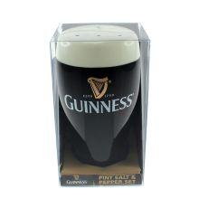 Guinness Pint Salt & Pepper Set