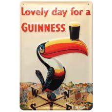 Guinness Toucan Metal Sign