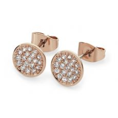 Tipperary Crystal Pave Full Moon Earrings