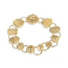 Newbridge-Mixed-Coin-Bracelet