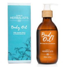Dublin Herbalists Body Oil with Juniper Berry & Frankincense 250ml