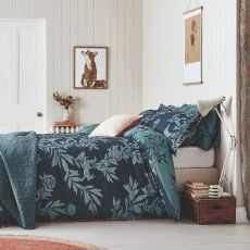 Joules Country Critters Navy Double Size Duvet Cover